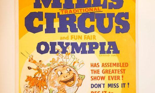 Bertam Mills' Traditional Circus poster
