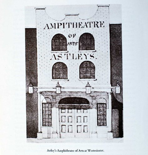 Astley's Amphitheatre of Arts - Westminster