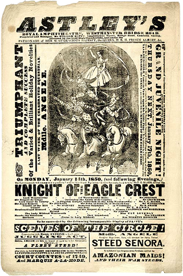 Philip Astley flyer