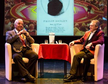 Charlie Cairoli and Andrew Van Buren in conversation