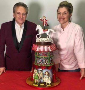 Andrew Van Buren with Philip Astley Extreme Cake