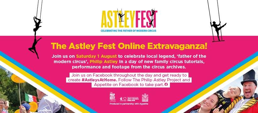 AstleyFest 2020 Online Entertainment