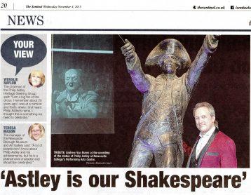 Philip Astley Shakespeare