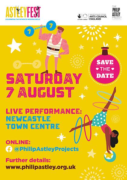 Philip Astley Save the Date AstleyFest